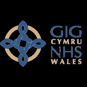 NHS Wales Logo - Blue