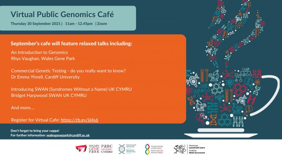 Genomics Café Twitter English