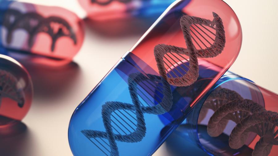 DNA in a capsule